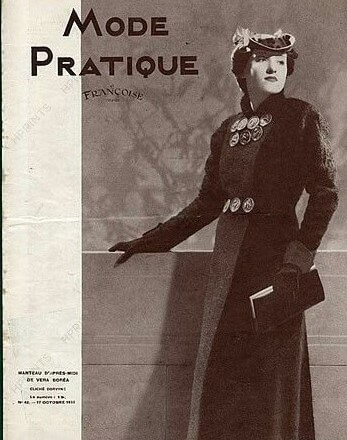 first fashion pictures in magazines