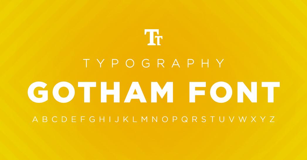 Gotham font: historia y uso de la famosa tipografía