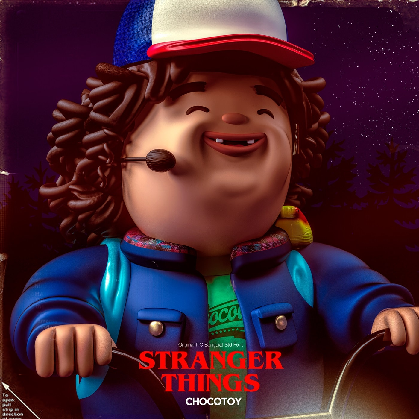 Stranger Things por Chocotoy