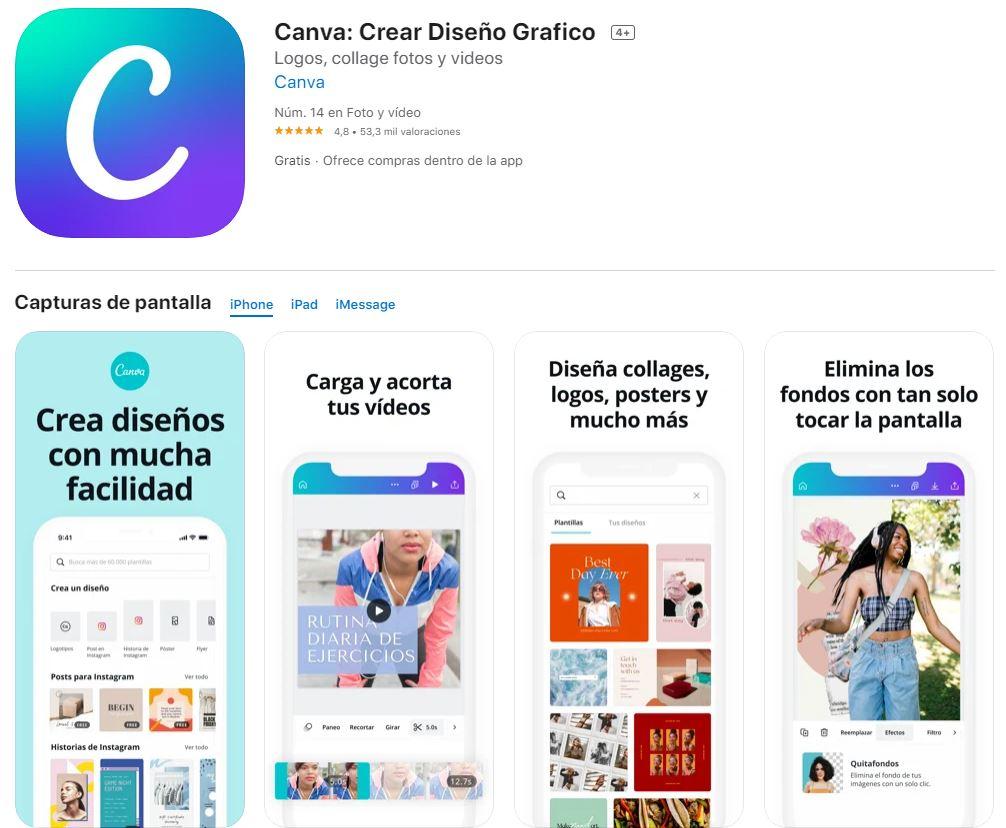 Canva: la mejor aplicación para editar fotos para marcas