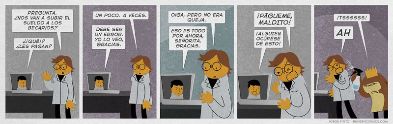 webcomic del artista Bunsen