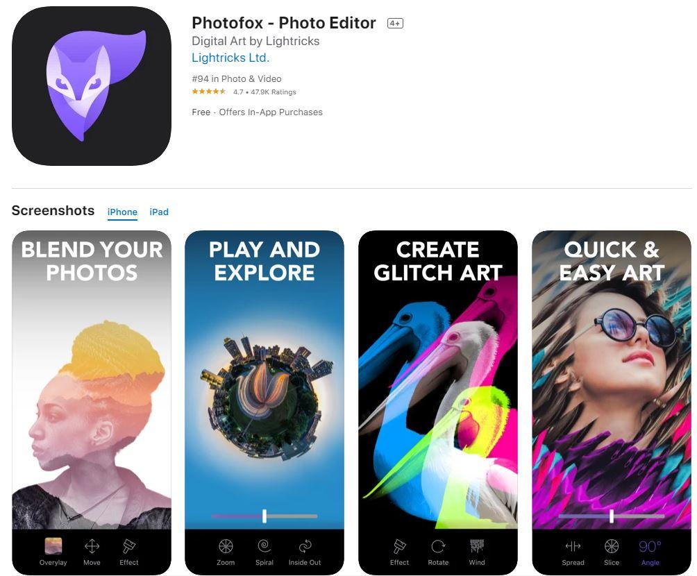 Enlight Photofox: la mejor aplicación para editar fotos artísticas
