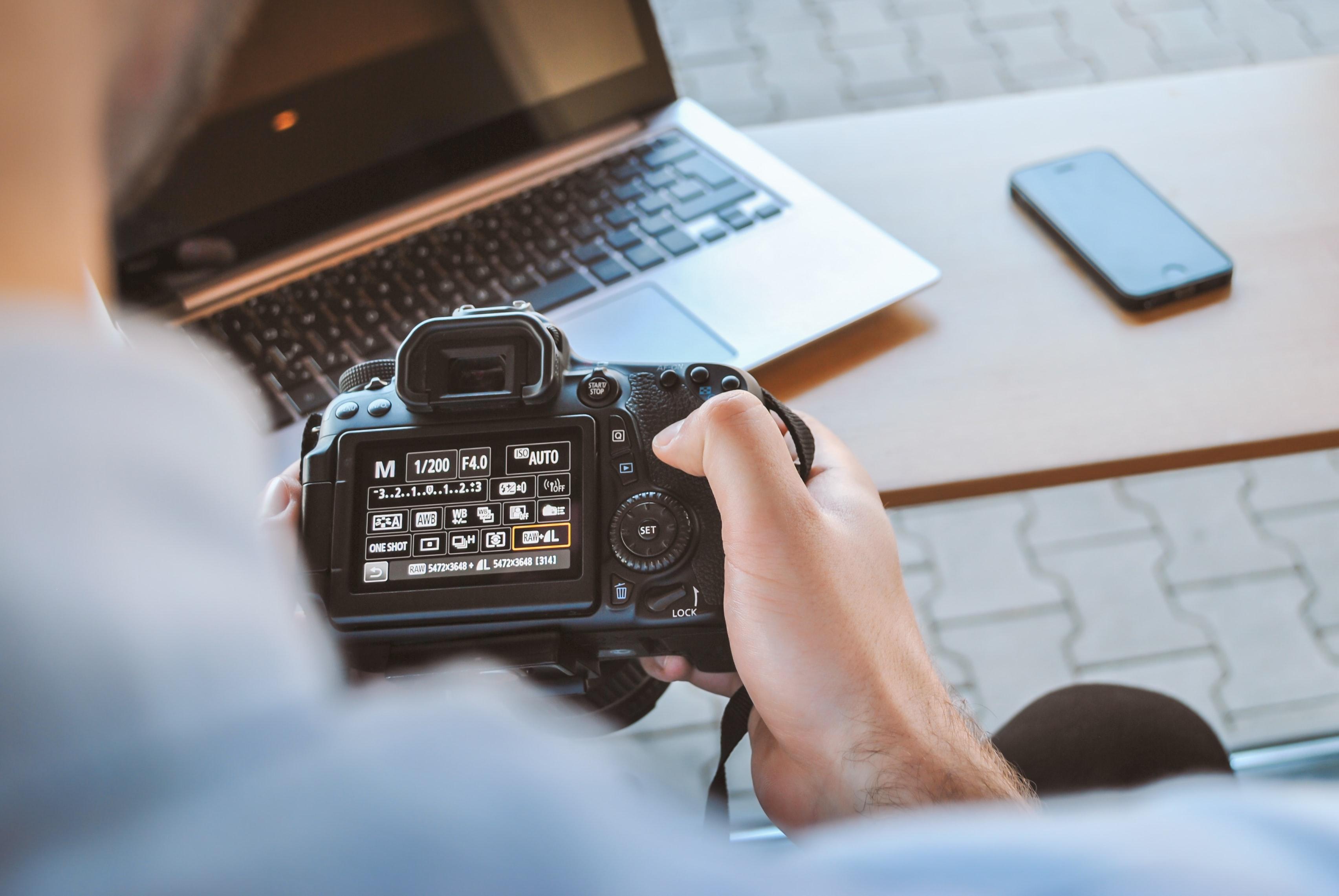 habilidades de un fotógrafo profesional