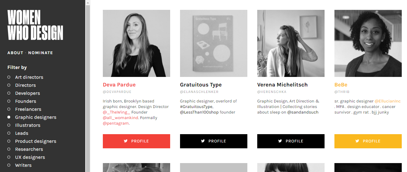 womenwhodesign web