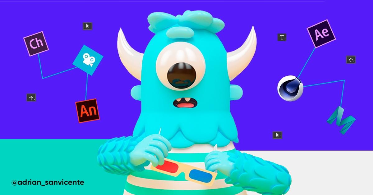 Los Mejores Softwares Para Animación 2d Y 3d 2020 Crehana