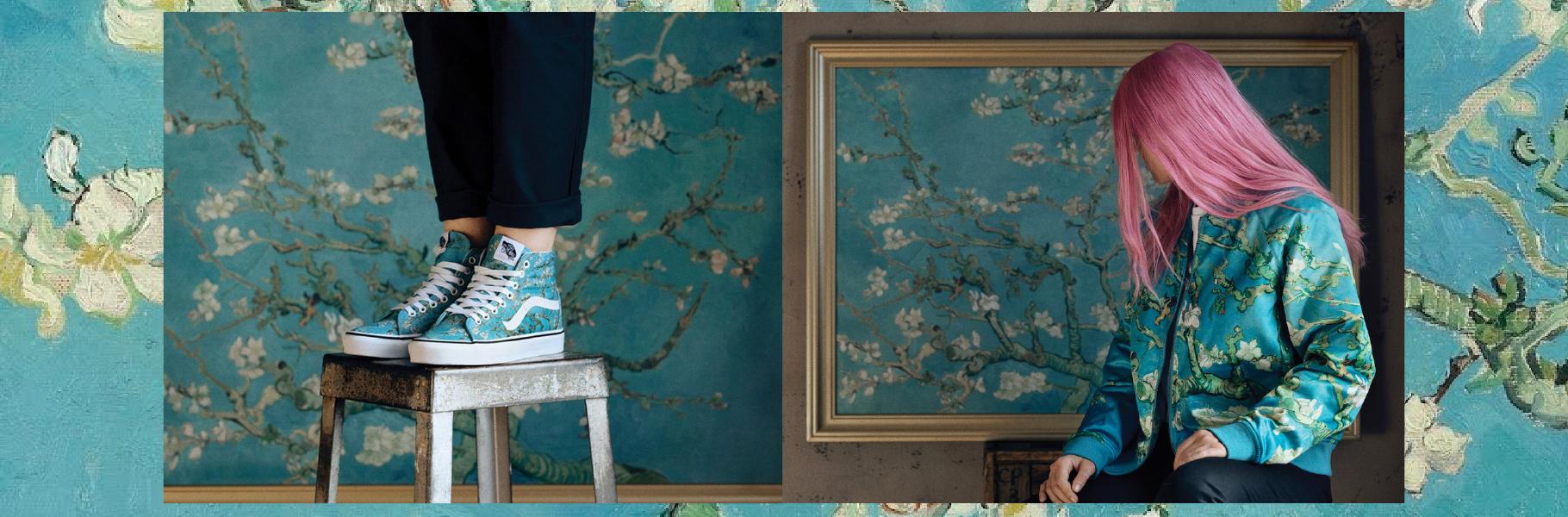 Colección de Vans inspirada en cuadros de Van Gogh