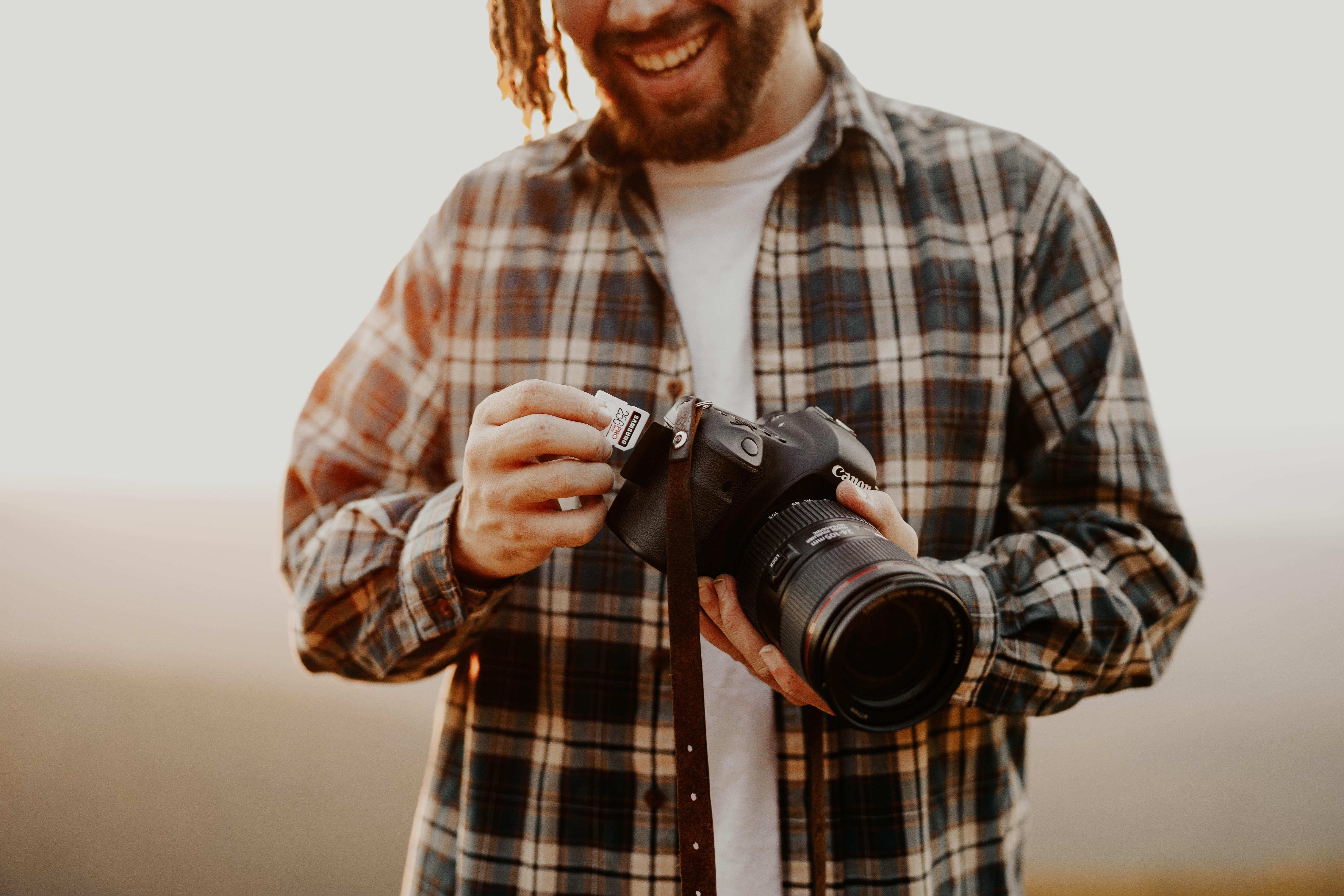 habilidades de fotografía