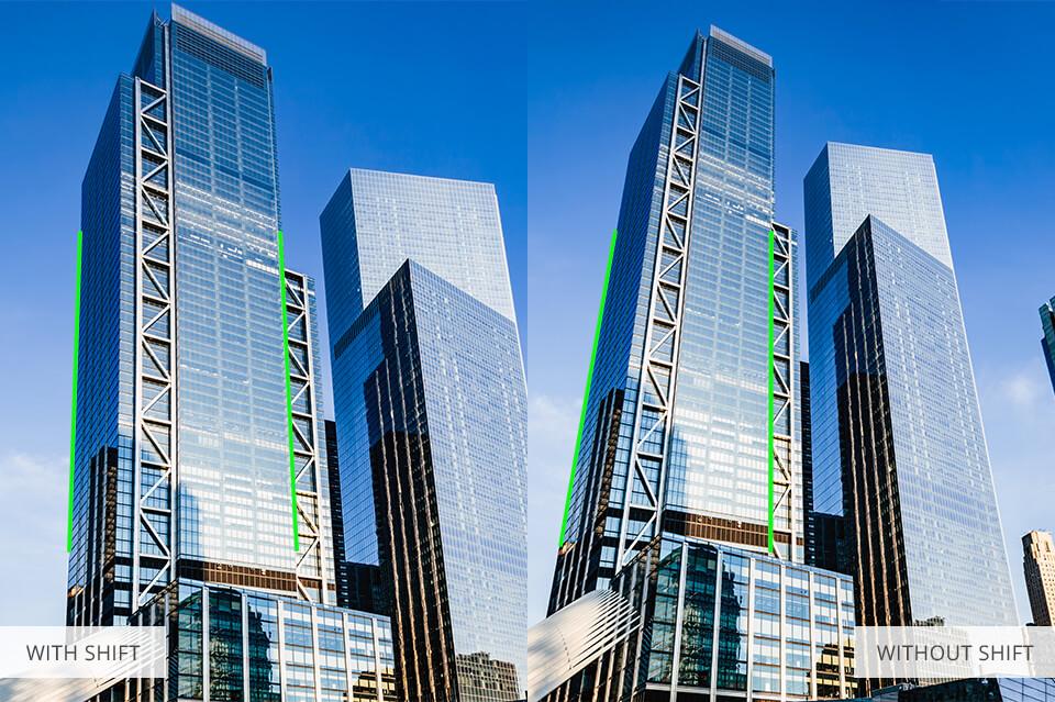 photography tilt shift comparison buildings architecture