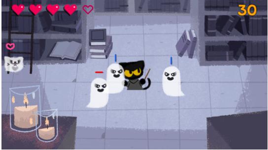 juego de fantasmas google