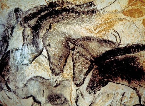 caballo animado rupestre