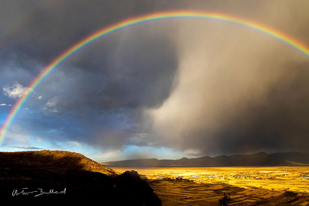 arco iris por Arturo Bullard