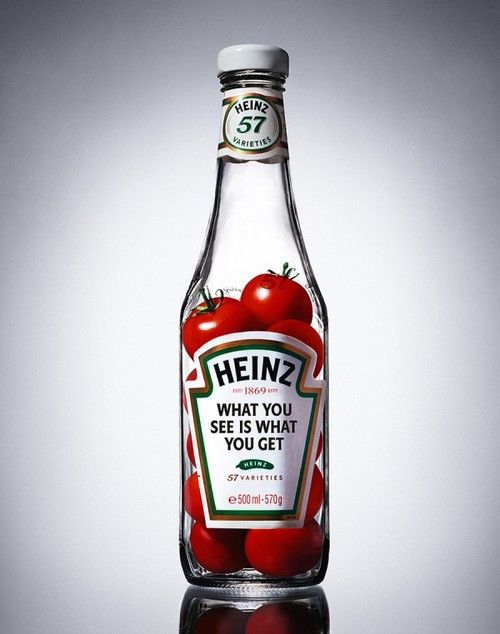 heinz publicity photography ketchup example