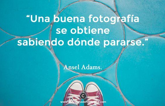 phrase Ansel Adams