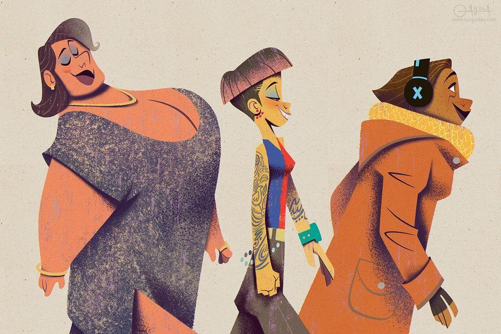 ilustración diversa