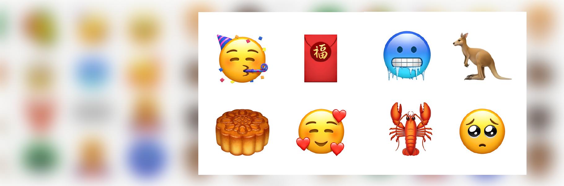 Los nuevos emojis que Apple sacará para el iOS 12.1