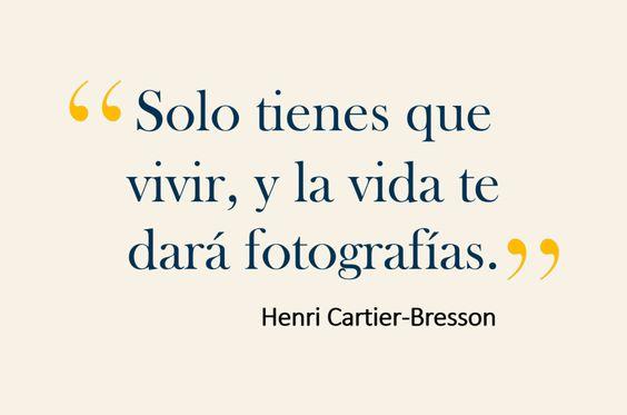 Cartier-Bresson phrase