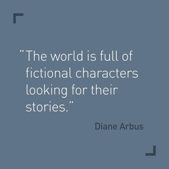 phrase Diane Arbus