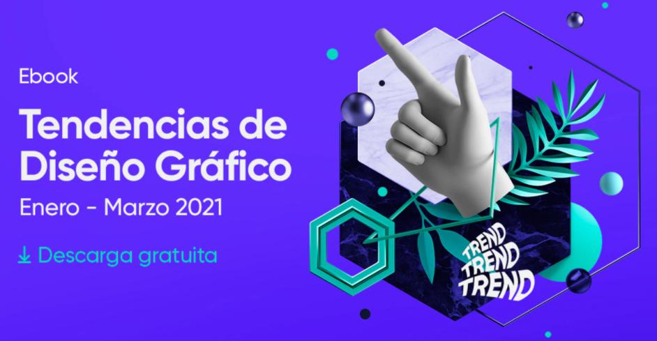 tendințe de design grafic 2021