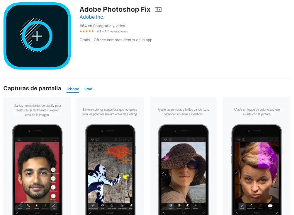 Adobe Photoshop Fix: la mejor aplicación para restaurar y retocar fotos