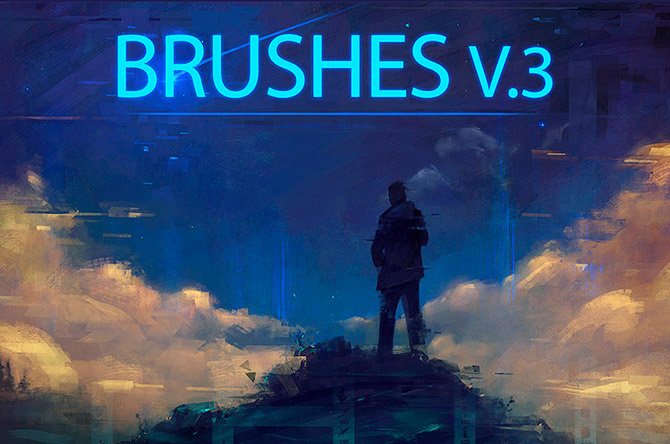 brushes photoshop para pinturas artísticas