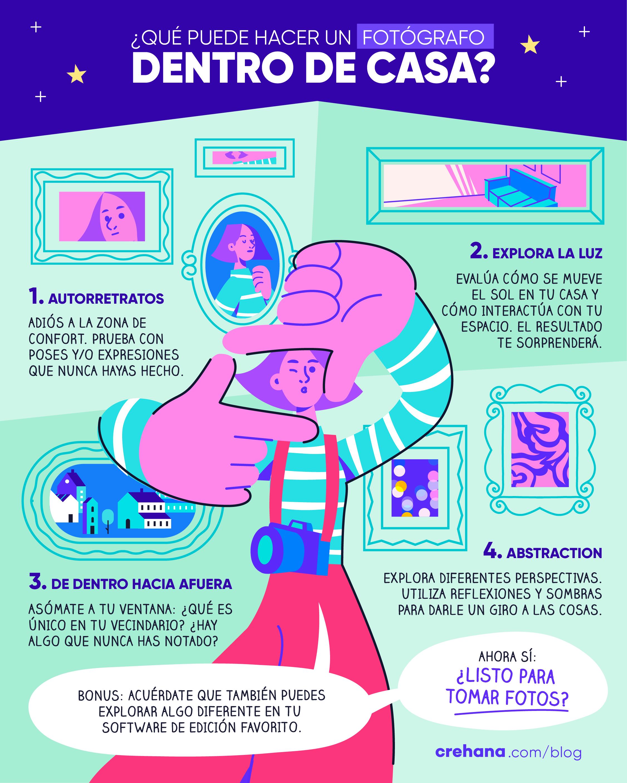 7 Ideas Para Hacer Fotos En Casa 2021 Crehana Co
