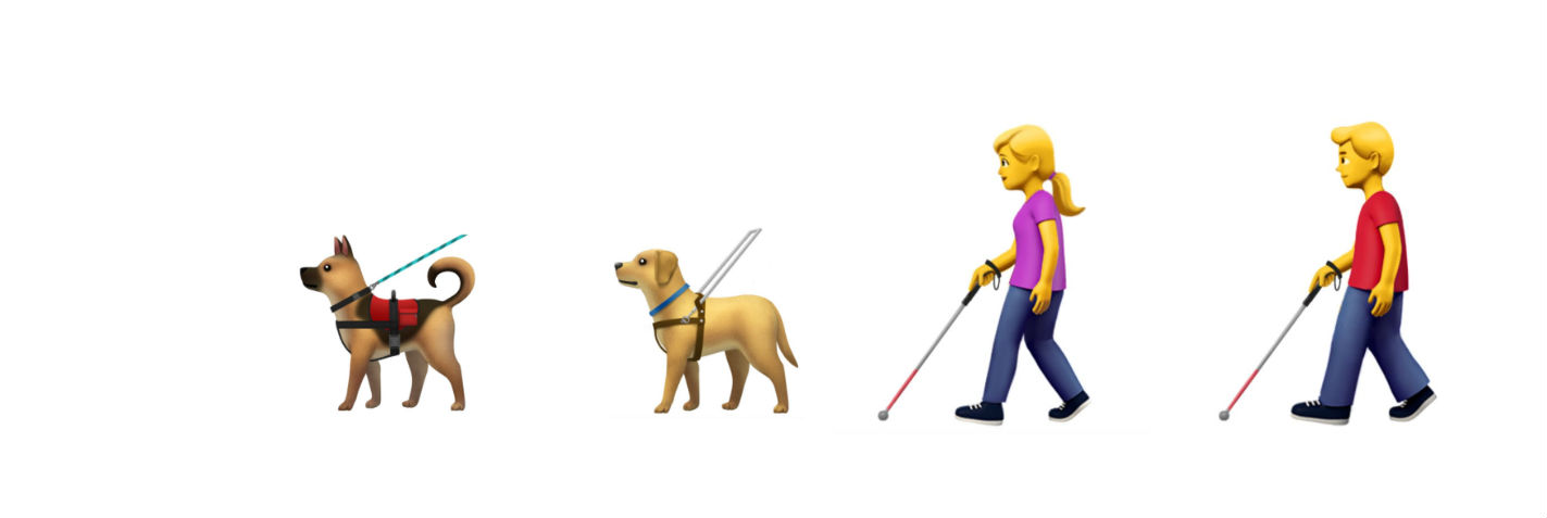 emojis para personas con discapacidad
