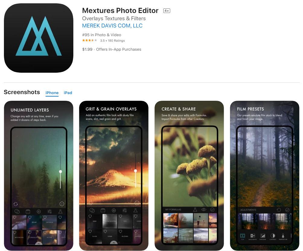 Mextures: la mejor aplicación para editar capas de forma rápida y profesional