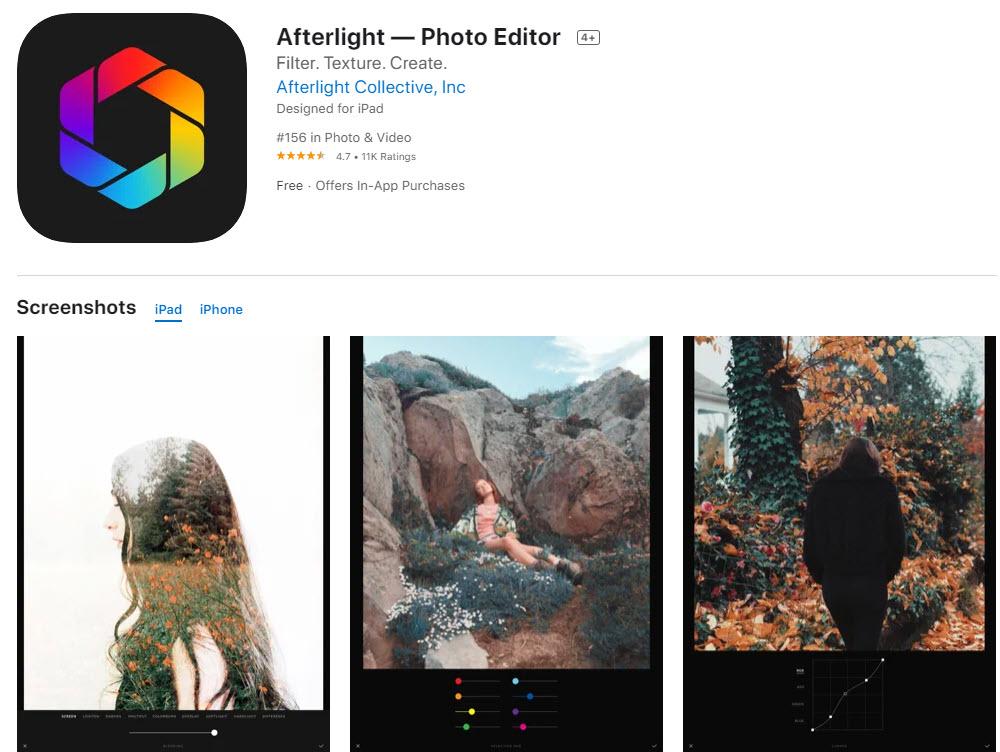 Afterlight: la mejor aplicación para editar fotos de forma rápida y sencilla