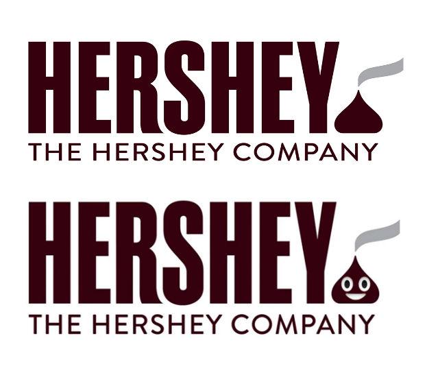hershey logo fail