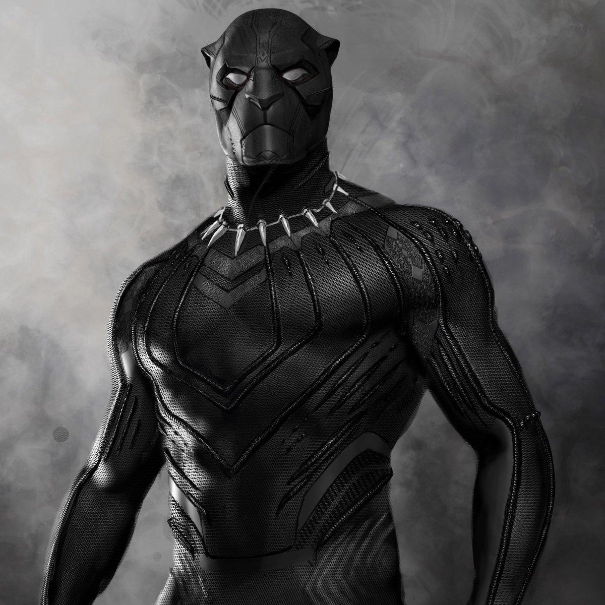 traje alternativo de pantera negra filtrado