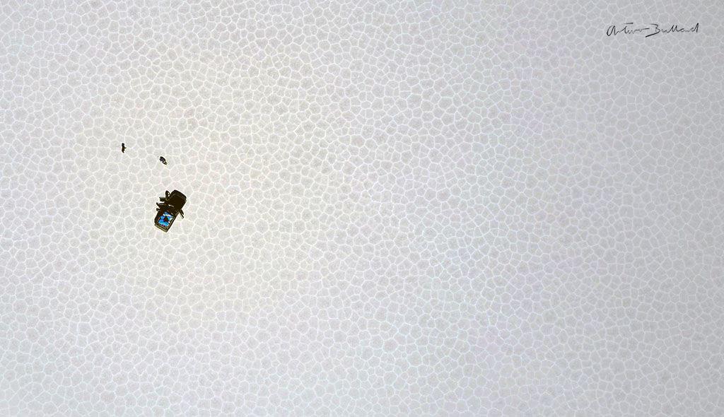 salar de uyuni vista aérea
