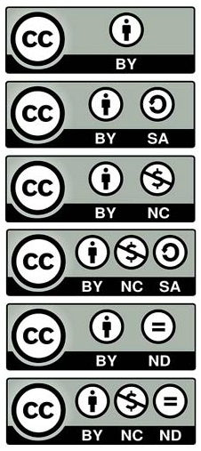 6 licencias de creative commons