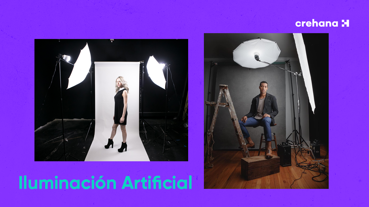 How to artificially illuminate photographs