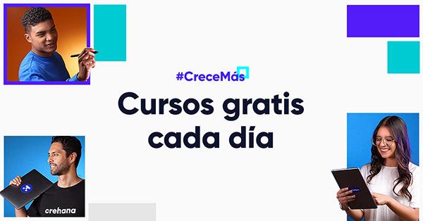 YoAprendoEnCasa Crehana abre cursos gratis | Crehana