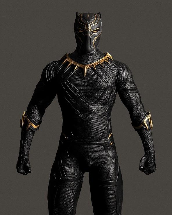 traje pantera negra civil war